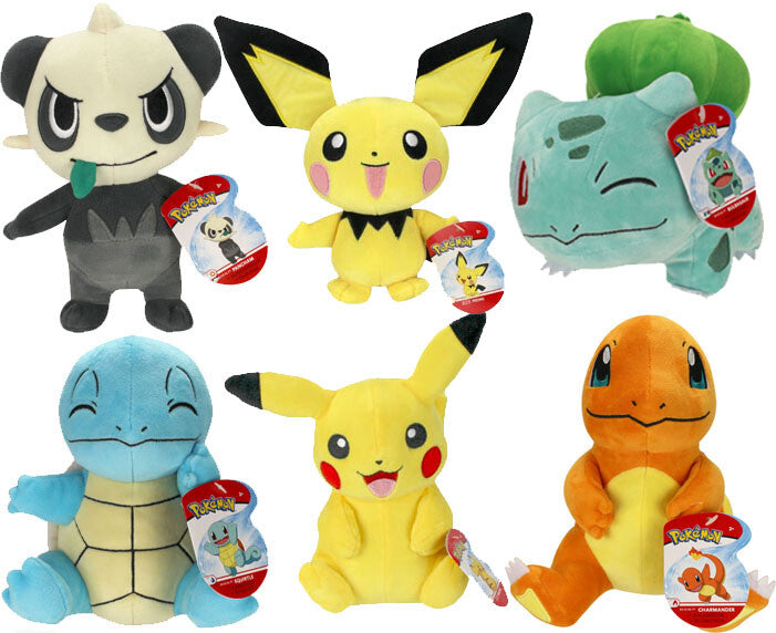 Pokemon: Pokemon 8 inch Plush Wave 7 Asst.