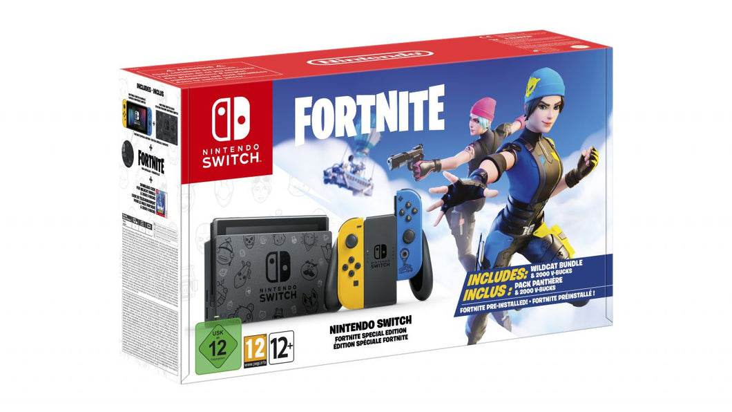 bundle di Nintendo Switch dedicato a Fortnite