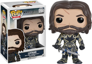 Funko- POP Warcraft Lothar #284
