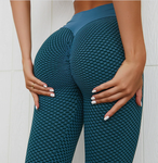 3D Mesh Knitting Pants With Push Up
