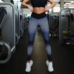 Gym Fitness Printing Push Up Leggings for Women