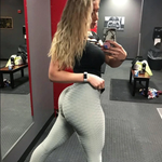 High Waist Fitness Leggings Women Workout Push Up Effect