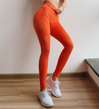 Shark Seamless Yoga Leggings Women High Waist Push Up