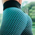 Water Droplets 3D Print Women Yoga Leggings Running Compression