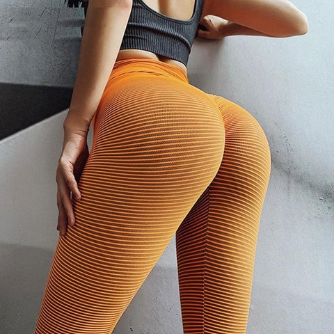 Hot High Waist Yoga Leggings Push Up Scrunch Leggings