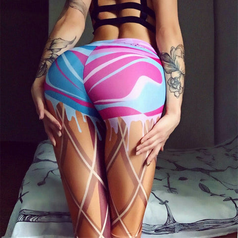 Sexy Printing Sports Leggings