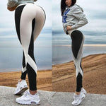 Sexy Women Leggings Gothic Insert Design