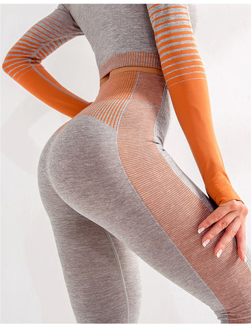 Seamless High Waist  Sport Workout Leggings