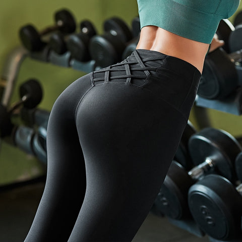 High Waist Tummy Control Seamless Sport Leggings For Fitness