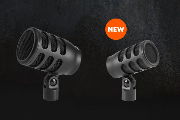 The Dynamic Duo: The all new beyerdynamic TG D70 & TG I51 microphones