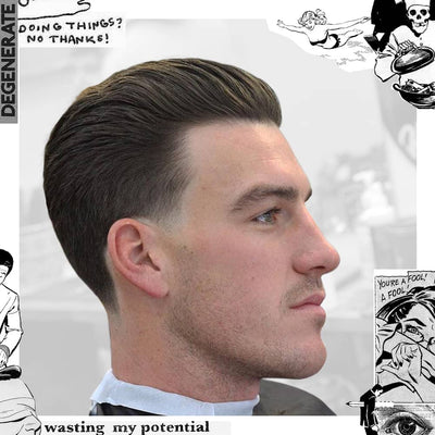 Featured Style: Easy Slick Back