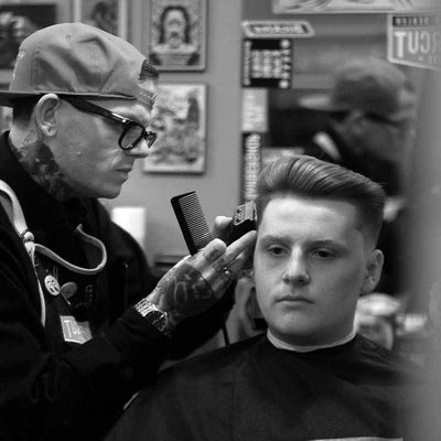 Modern Tapered Pomp - How To Cut