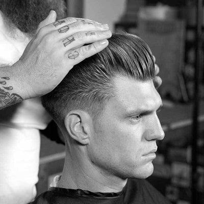 Side Part Pomp - How To Cut
