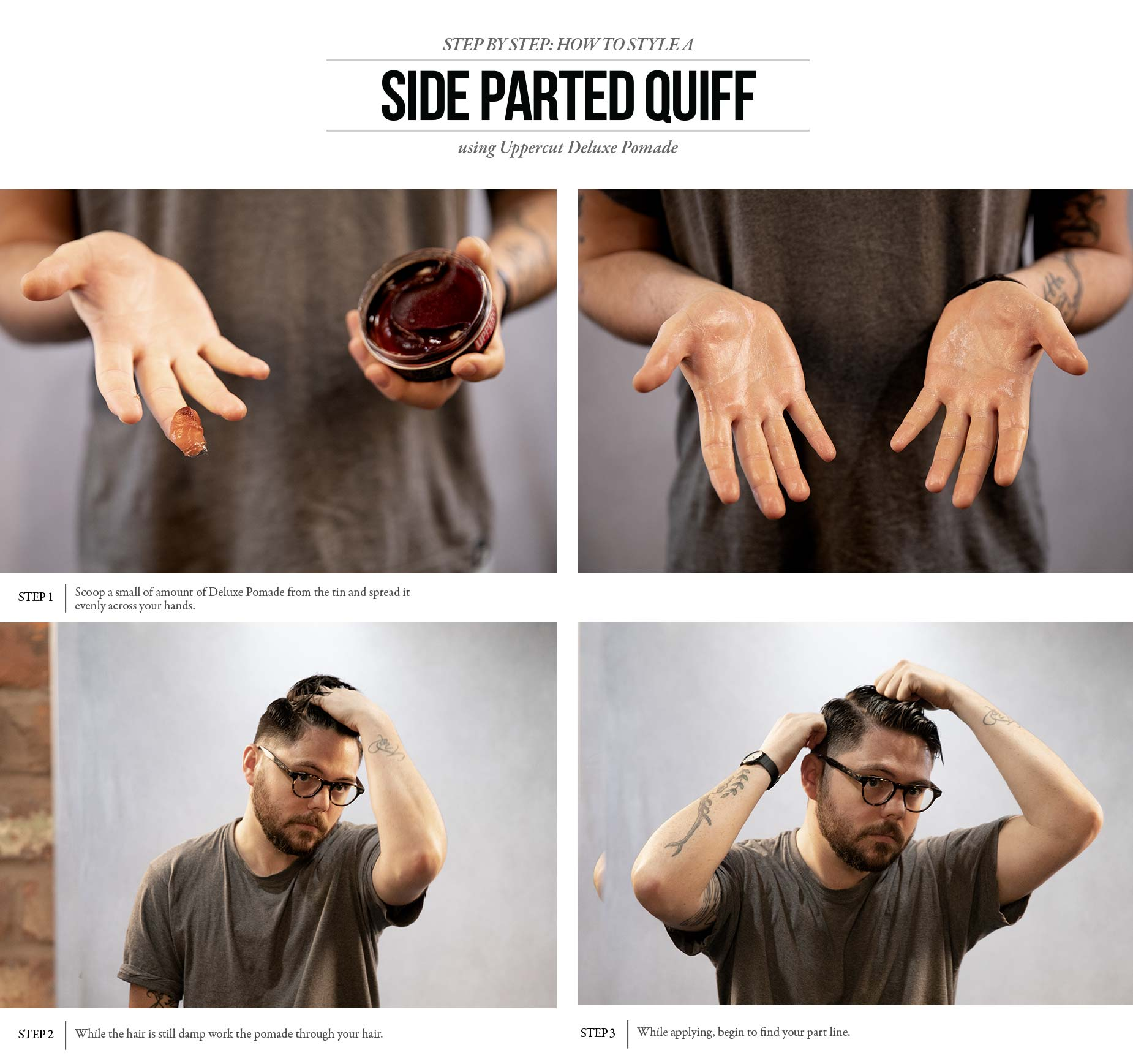 How to Style - Side Parted Quiff