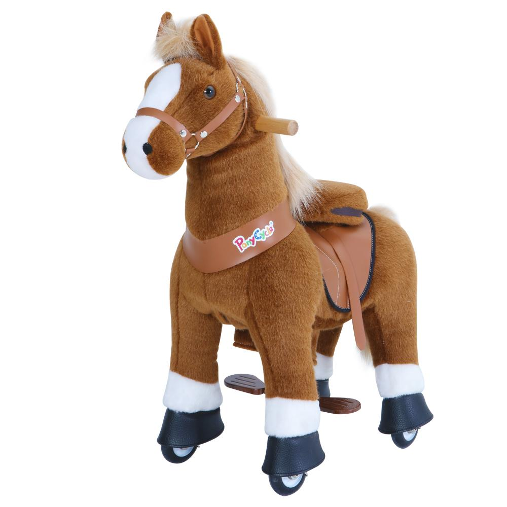 PonyCycle Brown Horse with White Hoof - Project Nursery