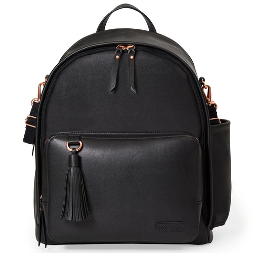 Greenwich Simply Chic Backpack - Black - Project Nursery