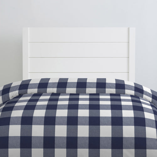 Buffalo Check Navy Twin Duvet Cover - Project Nursery