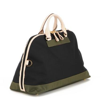 Retro Diaper Bag in Black Olive  - The Project Nursery Shop - 1