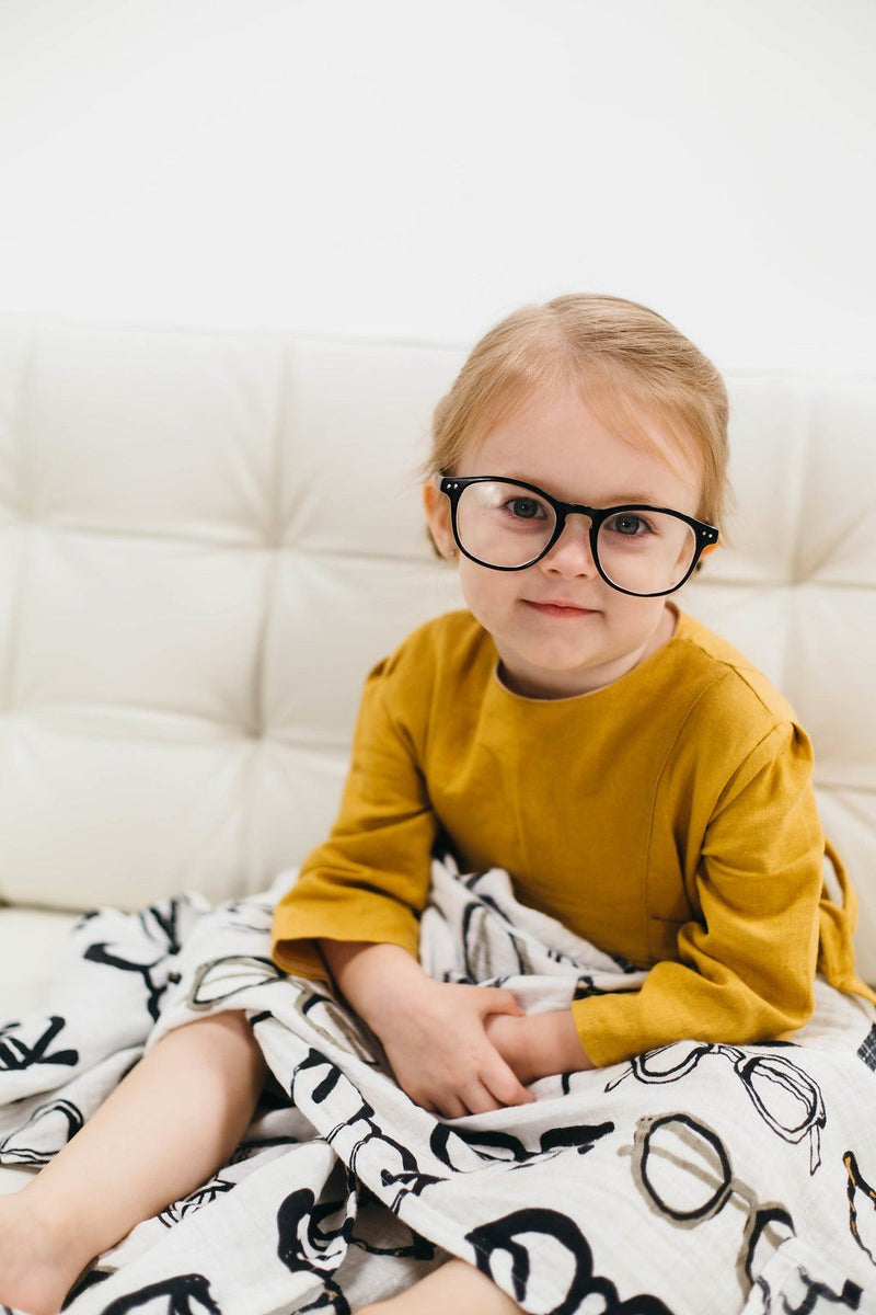 Specs Swaddle Blanket - Project Nursery