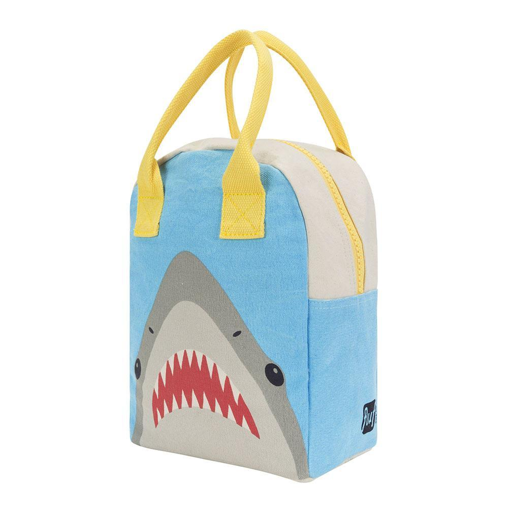 Shark Zipper Lunch Bag - Project Nursery