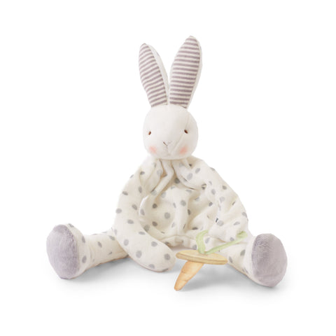 Crinkle Bunny Ears Teether - Navy