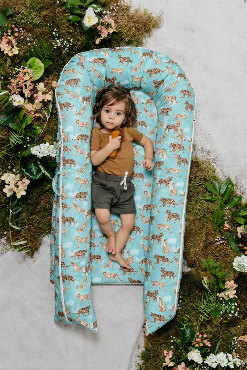 DockATot Grand Dock - Jungle Cat - Project Nursery