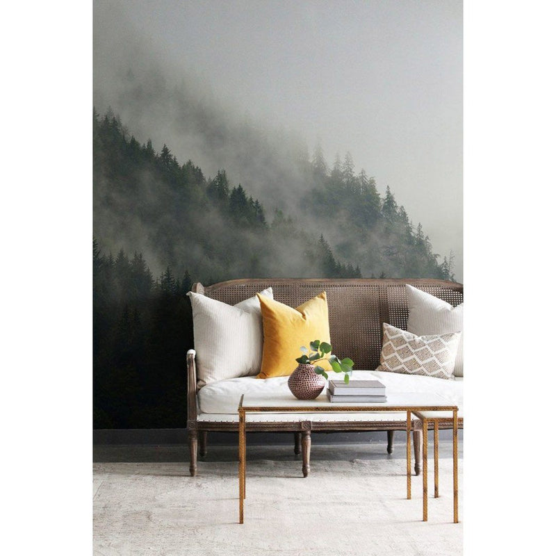 Misty Mountain Wallpaper Mural - Project Nursery