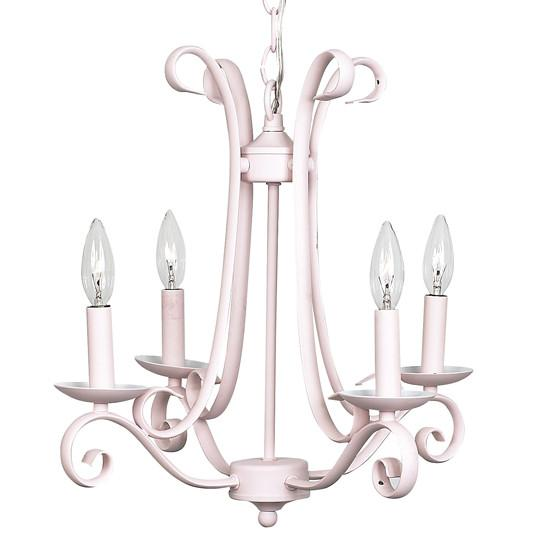 Harp Chandelier in Pink  - The Project Nursery Shop