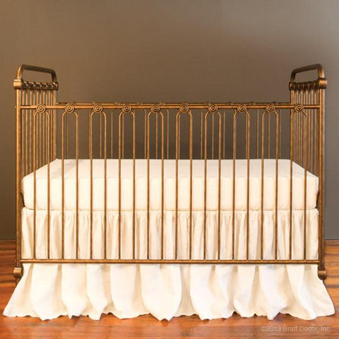 Asher 3-in-1 Convertible Crib With Toddler Bed Conversion Kit