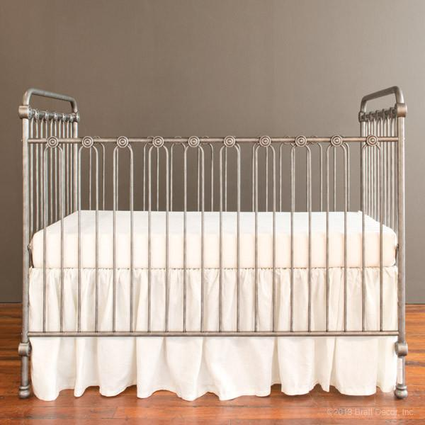 Joy Baby Crib Pewter - The Project Nursery Shop - 6