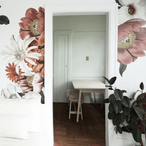 Hibiscus Wallpaper Mural