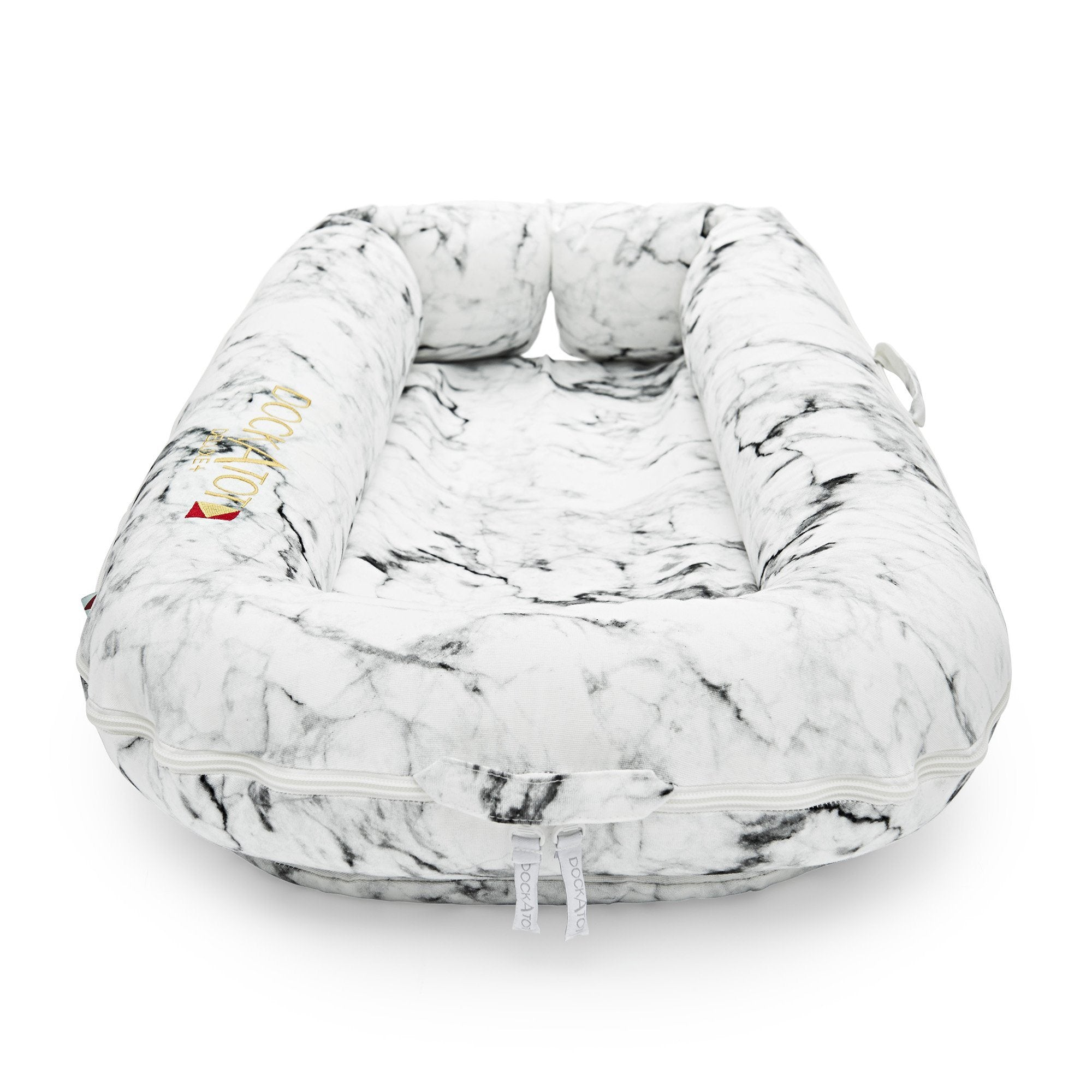 DockATot Deluxe+ Cover - Carrara Marble - Project Nursery