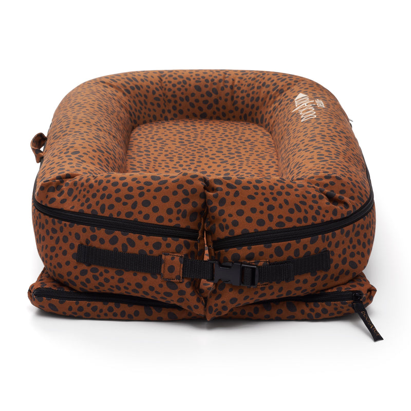 DockATot Deluxe+ Spare Cover - Bronzed Cheetah - Project Nursery