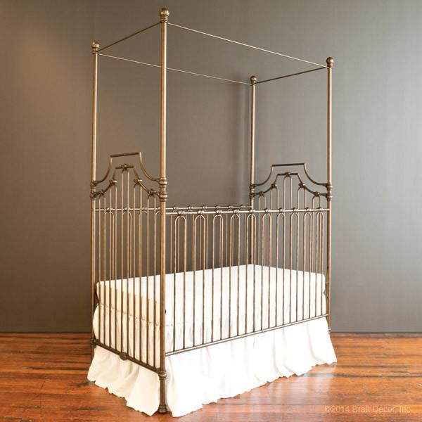 Parisian 3 in 1 Crib Vintage Gold - The Project Nursery Shop - 1