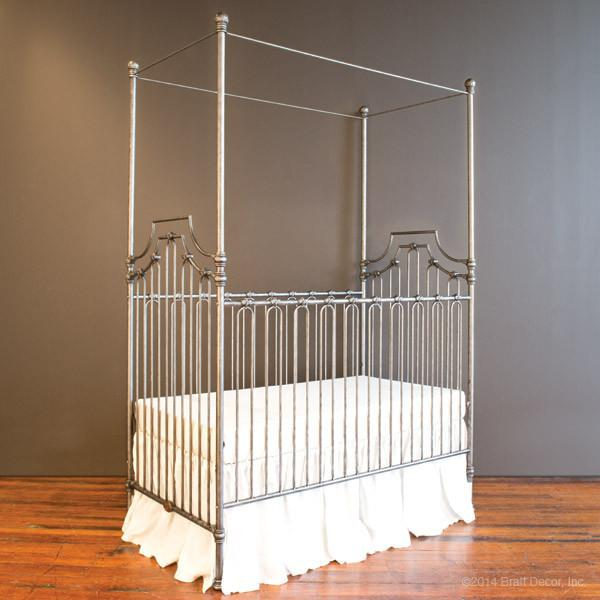 Parisian 3 in 1 Crib Pewter - The Project Nursery Shop - 5