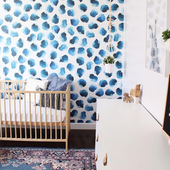 Millie Wallpaper - Project Nursery