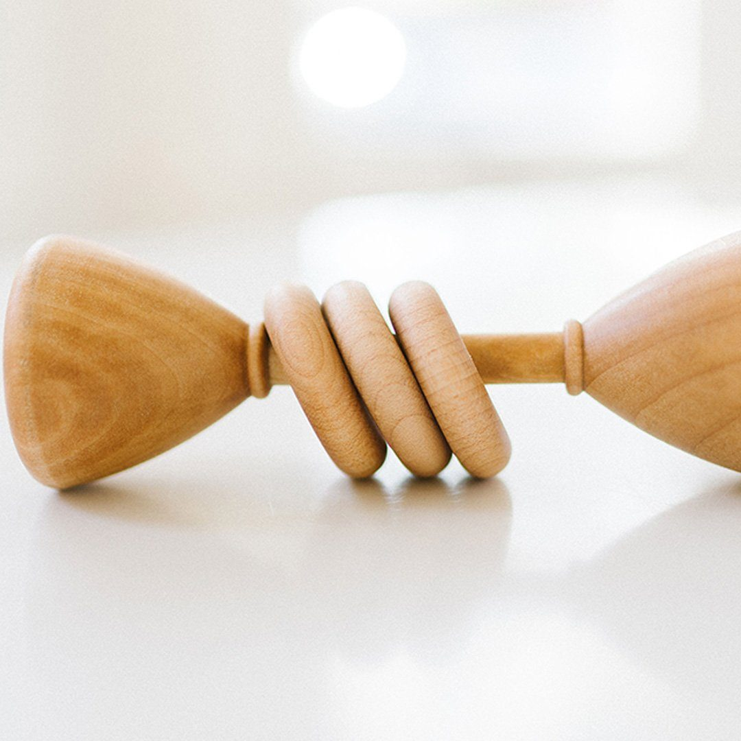Classic Wooden Baby Rattle - Project Nursery