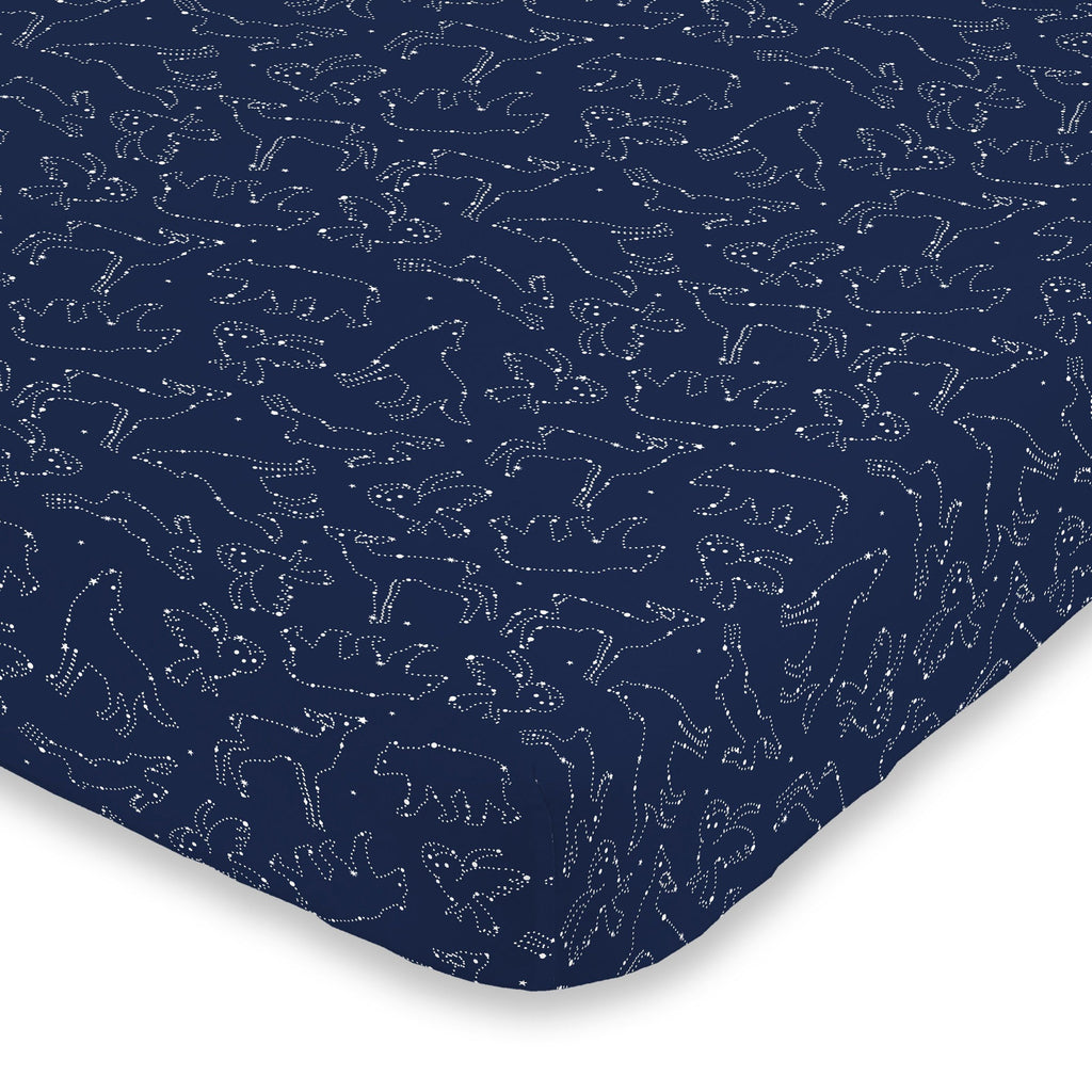 Cosmic Constellations Crib Sheet - Project Nursery