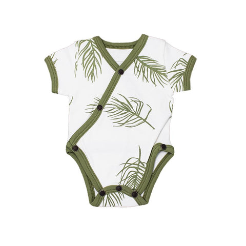 Botanical Rashguard Swimsuit Set