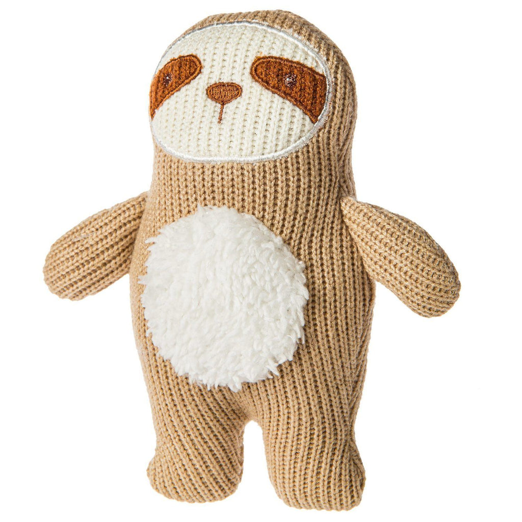 Knitted Nursery Sloth Rattle - Project Nursery