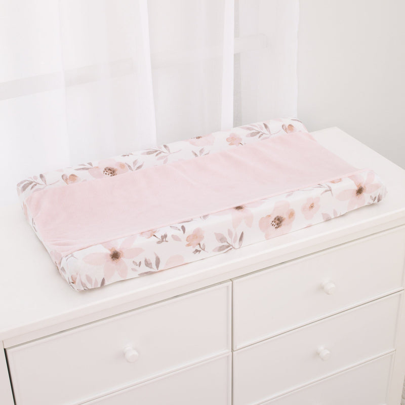 Countryside Floral Changing Pad Cover - Project Nursery
