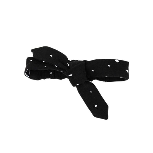 Organic Tie Headband - Confetti - Project Nursery