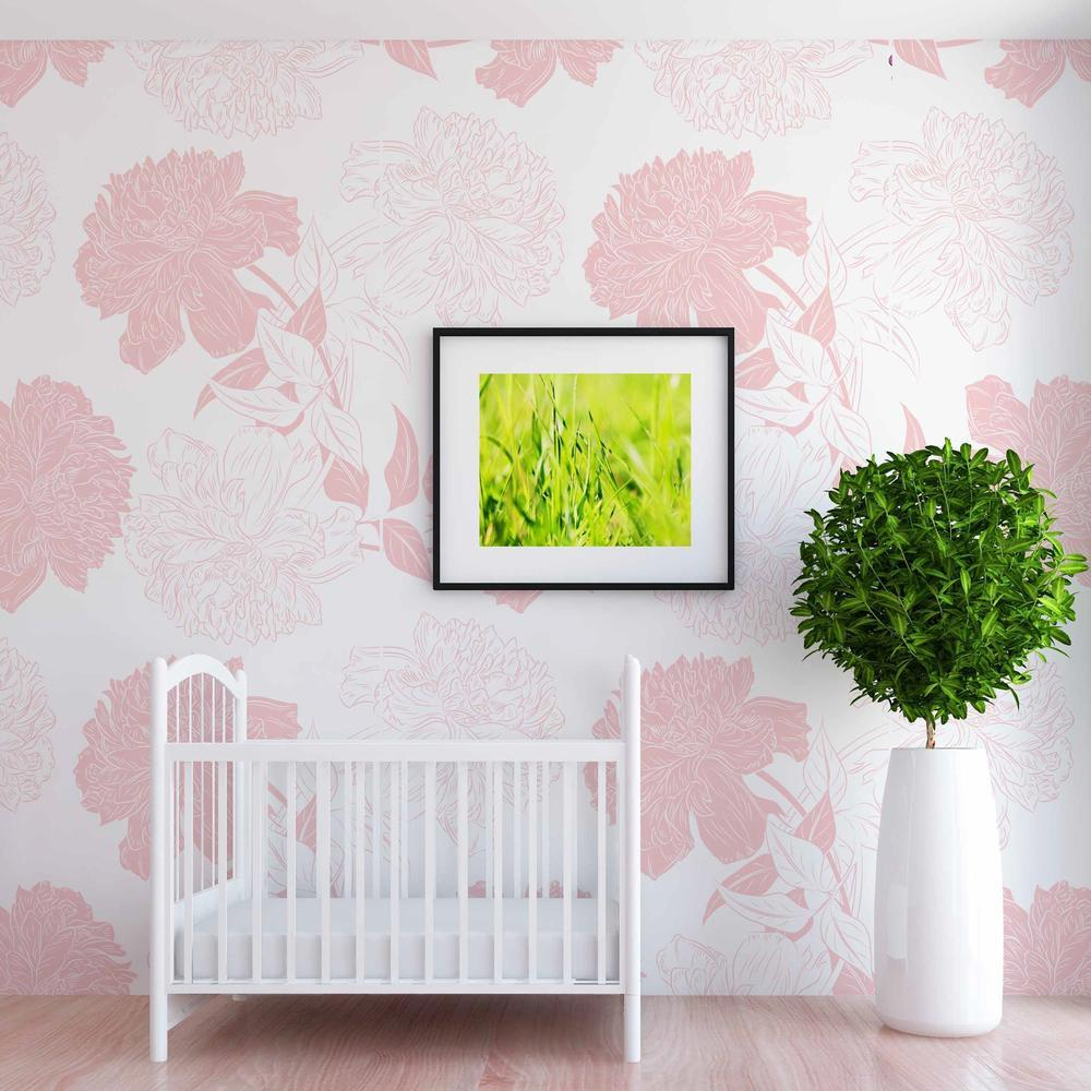 Posie Wallpaper - Project Nursery