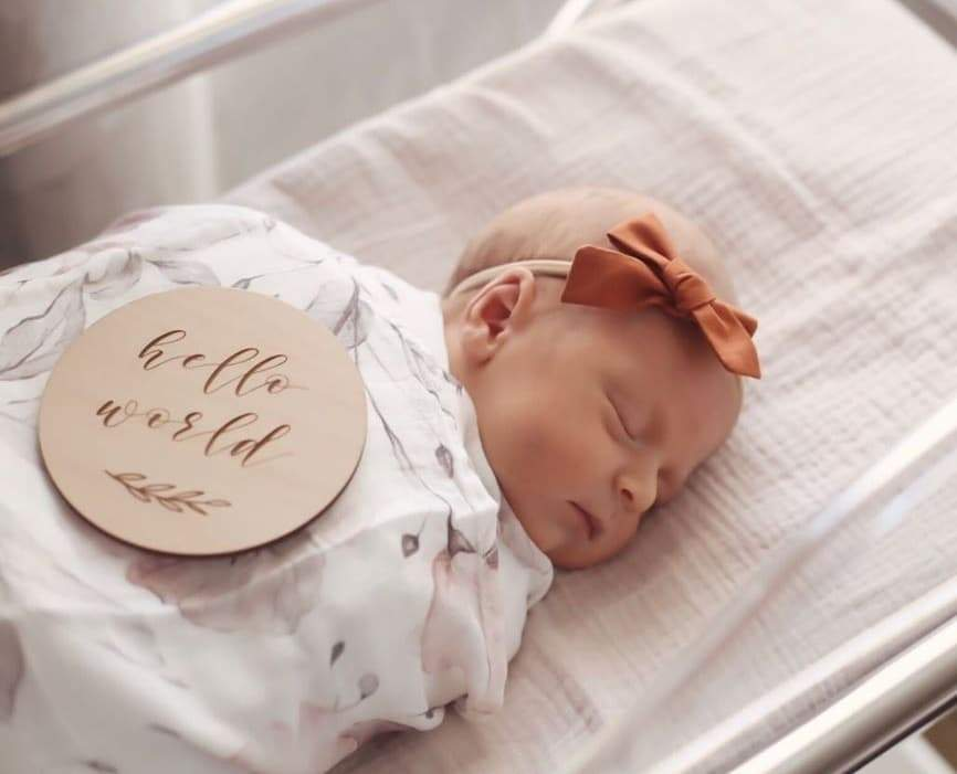 Etched Wooden Baby Milestone Disc Collection - Project Nursery