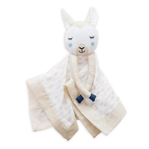 Modern Llama Lovie Blanket - Project Nursery