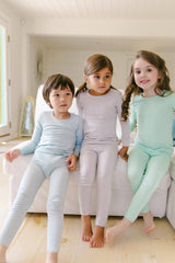 Long Sleeve Pajama Set - Sit Back and Lilac - Project Nursery