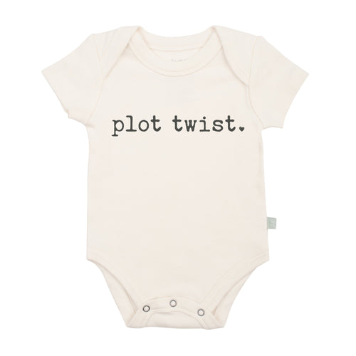 Plot Twist Graphic Bodysuit Layette Finn + Emma