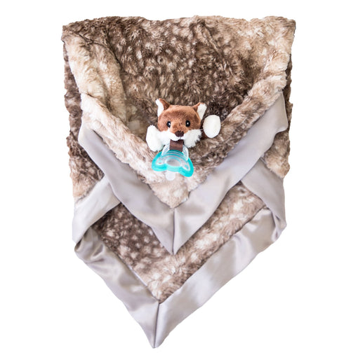 Pepper Fox Luxie Pockets Blanket - Project Nursery