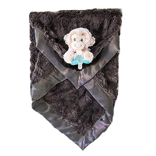Marlow Monkey Luxie Pockets Blanket - Project Nursery