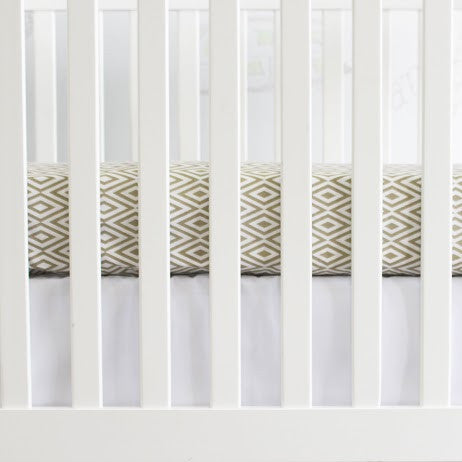 Diamond Crib Sheet - Project Nursery